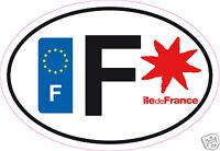 Autocollant sticker de département 93 Ile de France