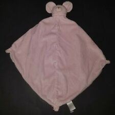 New listing Pink Mouse Angel Dear Lovey Security Blanket Plush Soft Baby Toy