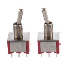 2 x interrupteur a bascule ON/ON 2 Position Double poles Q3V9