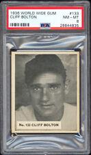 1936 Canadian Goudey World Wide Gum #133 Cliff Bolton Washington Senators PSA 8