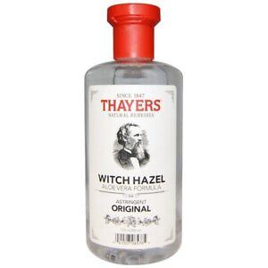 Thayers Witch Hazel Aloe Vera Formula Original -- 12 fl oz