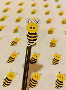 Bee stickers Bumble bee stickers envelope stickers planner stickers