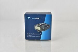 Flashpoint R2 TTL Transmitter Nikon Wireless Flash Strobe System Godox Adorama