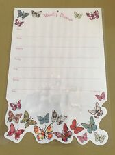Laminated Weekly Planner Pink Butterfly Theme  (18)