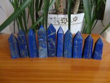 10Pcs Natural Pretty Lapis Lazuli Crystal Point Healing 585g