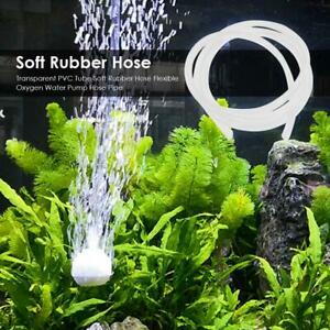 Clear Pipe Hose Aquarium Air Line Tube Fish Tank Air Pump Oxygen 4/6mm