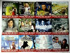 12 DVDs x Back To Secret Garden + Merlin's Apprentice + Arabian Nights & More