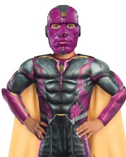 Avengers Vision Halloween Costume Muscle Chest Rubies Child's Large 12-14