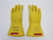 Salisbury D120 Type 1 Class 0 Lineman Gloves 1000v Ac Size 11 Rubber Insulating