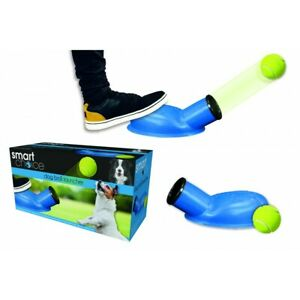 Dog Ball Launcher Foot Powered Pet Puppy Toy Game Fun Outdoor Interactive
