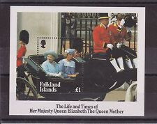 THE LIFE AND TIMES OF THE QUEEN MOTHER STAMP SHEET FALKLAND ISLANDS SG MS509