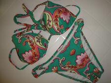bikini Calzedonia Cobey tg 40 costume donna multicolore per mare o piscina