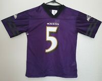 NFL Football Youth Boys Baltimore Ravens #5 Joe Flacco Purple ...