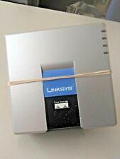 L👀K Linksys VoIP Internet Phone Adapter Serial #FLI00G201883