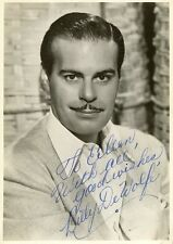 Vintage BILLY DeWOLFE Signed Photo