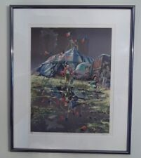 "Lithograph: ""Cirque Pepito"" by Daniel Authouart - #138/175 - FABULOUS"
