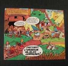 Astérix Uderzo série de 5 autocollants Loterie nationale Belge 1972 TBE