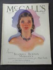 Vintage McCalls Magazine September 1930