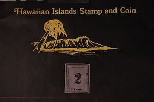 38 HAWAII SCOTT #18 UNUSED 1863 KINGDOM OF HAWAII NUMERALS