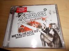 Metalheadz.03 Mixed By Goldie - Sampler 2CDs  NEU
