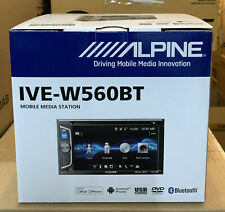 "ALPINE Car/Van CD DVD USB Double Din 2DIN Stereo Bluetooth iPhone 6.2"" NEW"
