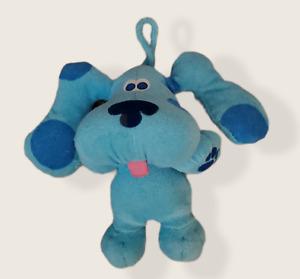 "Vintage Blue's Clues Beach Time Blue Tyco 39665 Plush 1998  8"""