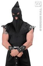 Black Executioners Hood Medieval Executioner Fancy Dress