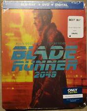 BLADE RUNNER 2049 Best Buy Steelbook Blu-Ray/DVD/Digital US Exclusive Artwork!!!