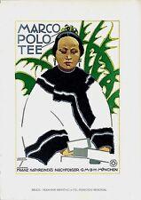 Original vintage poster print MARCO POLO TEA CHINESE 1926 Hohlwein