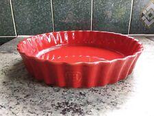 Set Of 3 Emile Henry Porcelaine White 24cm Gratin Dishes Home, Furniture & Diy