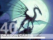 MTG Dragon Lot - 40 RARE / FOIL Cards - Magic Lot Set Collection EDH Deck Tribal