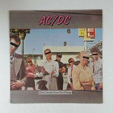 AC/DC Dirty Deeds Done Dirt Cheap 50323 SGAE LP Vinyl VG++ Cover VG+ near ++