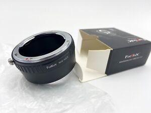 Fotodiox Nikon F Mount Lens to Sony E-Mount NEX Camera Adapter.