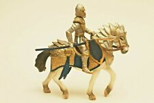 New ListingSchleich Rare gold Griffin Knight Magnetic with Lance, No Griffin Crest Retired.