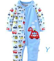 Baby Girls/Boys Footless BabyGrow Sleepsuits Romper 100% Cotton Set,3,6,9,12MTHS