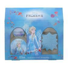 Disney Frozen Elsa Eau de Toilette 50ml & 3D Soap 50g Set Children's Damaged Box
