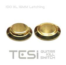 Tesi IDO/LXL 16MM Latching Gold Metal Guitar Kill Switch