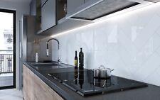 SAMPLE £12.89/m2 Subway Brick Flat White Ceramic High Gloss 10x30Wall Metro Tile