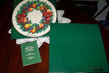 Lenox Colonial Christmas Wreath Series - 1988 - Delaware with Box