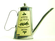 Stainless Steel Oil Can White Label