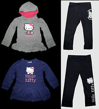 Tunika Kleid Leggings Hello Kitty Disney Minnie 104 - 140 Shirt langarm