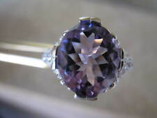 4.0ct FLAWLESS-VVS1 PINK AMETHYST RING, ART DECO STLYE