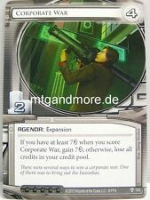 Android Netrunner LCG - 1x Corporate War  #120 - Future Proof