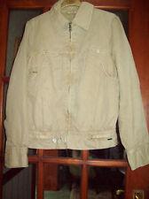 BNWOT Ladies DIESEL Short Beige Jacket Size S