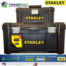 Stanley® Tool Chest Box COMBO BONUS 48cm & 32cm Lockable Storage Toolbox Kit54