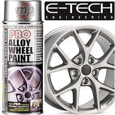 E-Tech PRO Alloy Wheel Refurbish & Refresh Spray Paint - Chromium Bright Silver