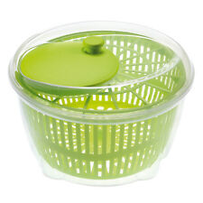 Large Salad Spinner Vegetable Veg Leaf Dryer Drainer Colander Plastic Bowl