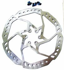 203mm STAINLESS STEEL DISC BRAKE ROTOR  !! AVID, HAYES, HOPE, SHIMANO ETC ETC