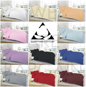 Extra Deep 30CM Fitted Bed Sheet 100% Egyptian Cotton Single Double King Sheets