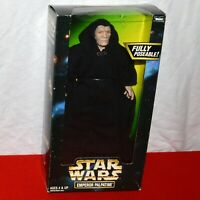 """Star Wars 12"""" Emperor Palpatine Sith Kenner NEW IN BOX Sealed ROTJ Action Figure"""